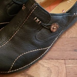 Clark's Artisan Unstructured Black Shoes